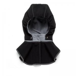 Glugă și fular de încălzire a gâtului pentru bebeluși Liliputi® - Black-grey0