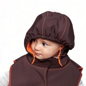 Glugă și fular de încălzire a gâtului pentru bebeluși Liliputi® - Folk-tale
