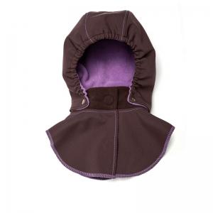 Glugă și fular de încălzire a gâtului pentru bebeluși Liliputi® - Lavendering