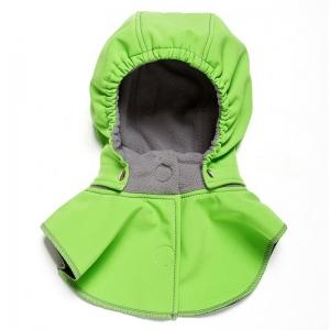 Glugă și fular de încălzire a gâtului pentru bebeluși Liliputi® - Green-grey0