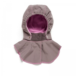 Glugă și fular de încălzire a gâtului pentru bebeluși Liliputi® - Peony0