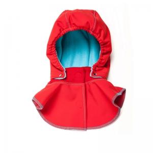 Glugă și fular de încălzire a gâtului pentru bebeluși Liliputi® - Red-turquoise0