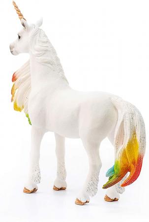 Iapa unicorn curcubeu cu strasuri - Figurina Schleich 705242