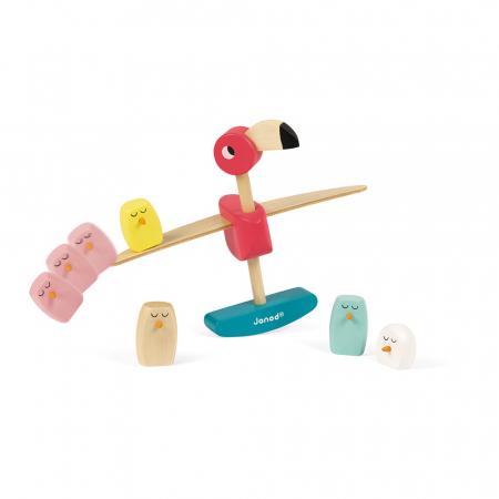 Joc de echilibru - Zigolos Flamingo - Janod J082304