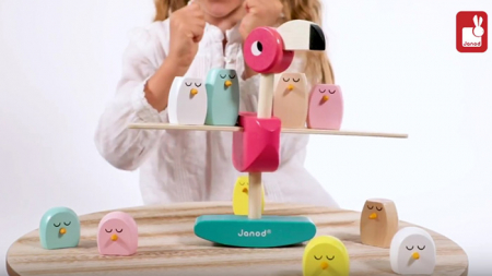 Joc de echilibru - Zigolos Flamingo - Janod J082308