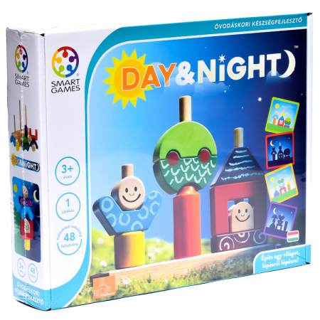 Joc de logică - Day & Night, Smart Games SG 0331