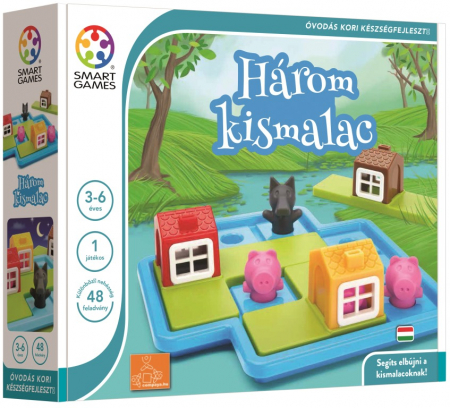 Joc de logică - Three Little Piggies, Smart Games SG 0191