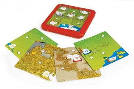 Joc de logică - Chicken Shuffle, Smart Games SG 4300