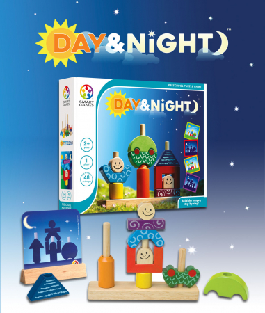 Joc de logică - Day & Night, Smart Games SG 0337