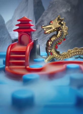 Joc de logică - Temple connection dragon edition, Smart Games SG 2836
