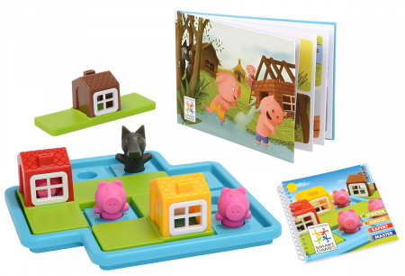 Joc de logică - Three Little Piggies, Smart Games SG 0190