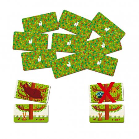 Joc de memorie - Copăcelul veseliei - 30 de piese, Janod J027611