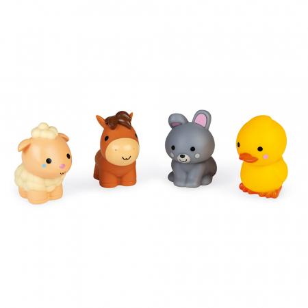 Jucării de baie - Animale de fermă - 4 de piese, Janod J047022