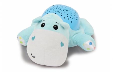 Lampă de veghe muzicală cu proiecție stelară - Dreamy Hippo, Jamara 4604302