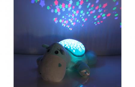 Lampă de veghe muzicală cu proiecție stelară - Dreamy Hippo, Jamara 4604304