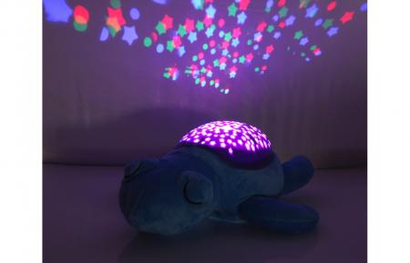 Lampă de veghe muzicală cu proiecție stelară - Dreamy Turtle, Jamara 4604314