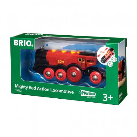 Locomotivă roșie puternică, Brio 335920