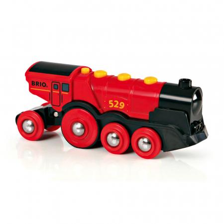 Locomotivă roșie puternică, Brio 335921