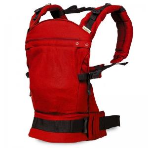 Marsupiu ergonomic SSC Liliputi® Classic line - Rouge1