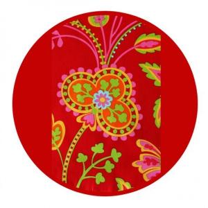 Marsupiu ergonomic SSC Liliputi® Rainbow line - Floral Garden1