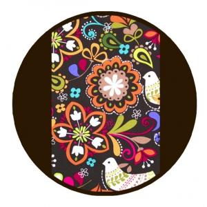 Marsupiu ergonomic SSC Liliputi® Rainbow line - Folk-tale3