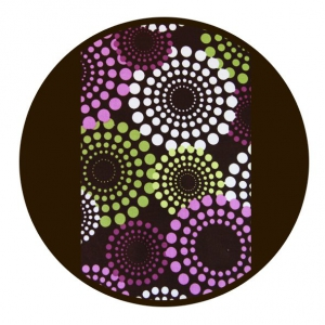 Marsupiu ergonomic SSC Liliputi® Rainbow line - Lavendering2