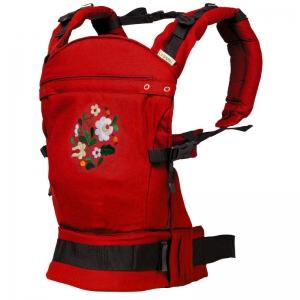 Marsupiu ergonomic SSC Liliputi® MATYÓ - Rouge1