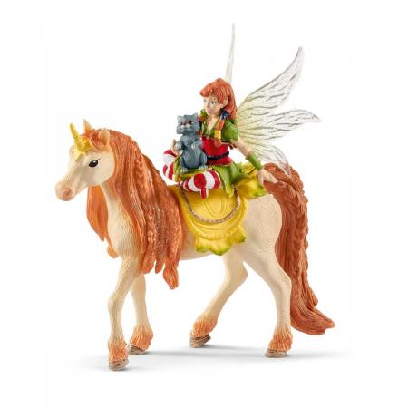 Marween cu un unicorn strălucitor - Figurina Schleich 705670