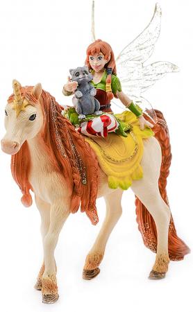 Marween cu un unicorn strălucitor - Figurina Schleich 705671
