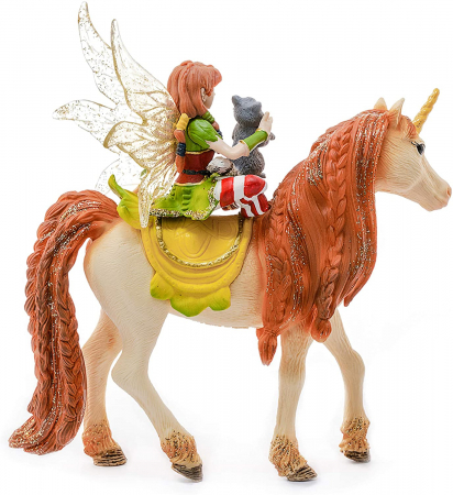 Marween cu un unicorn strălucitor - Figurina Schleich 705672