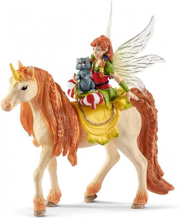 Marween cu un unicorn strălucitor - Figurina Schleich 705674