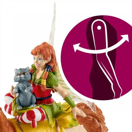 Marween cu un unicorn strălucitor - Figurina Schleich 705676
