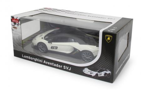 Masină cu telecomandă Lamborghini Aventador SVJ Performance 1:14, Jamara 4051721