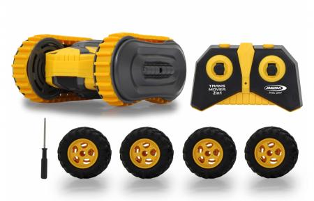 Masină cu telecomandă Trans Mover Stuntcar 4WD 2 in 1, Jamara 4101400