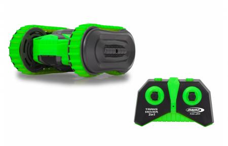 Mașină cu telecomandă Trans Mover Stuntcar 4WD 2 in 1 verde 1:24, Jamara 410141 [2]