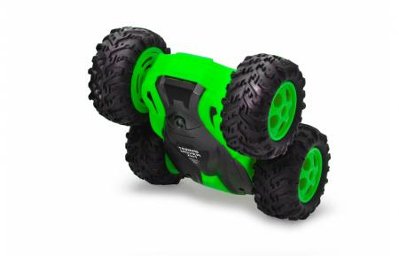 Mașină cu telecomandă Trans Mover Stuntcar 4WD 2 in 1 verde 1:24, Jamara 410141 [8]