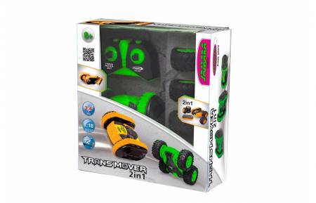 Mașină cu telecomandă Trans Mover Stuntcar 4WD 2 in 1 verde 1:24, Jamara 410141 [9]