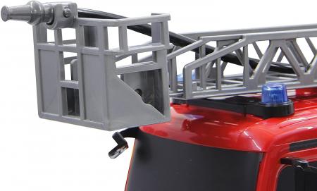 Masină de pompieri cu telecomandă Mercedes Antos cu scara și pompă de apă, Jamara 404960 [3]