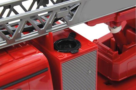 Masină de pompieri cu telecomandă Mercedes Antos cu scara și pompă de apă, Jamara 404960 [5]