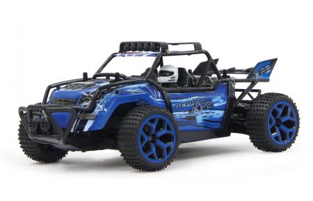 Mașină off-road cu telecomandă Derago XP1 4WD albastru 1:18, Jamara 4100137