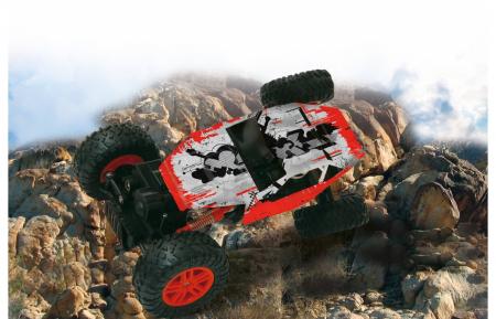 Masină off-road cu telecomandă Hillriser Crawler 4WD portocaliu 1:18, Jamara 4100546