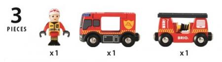 Mașină pompieri, Brio 338114