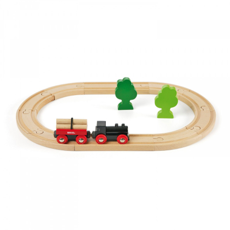 Mini set trenuleț forestier, Brio 330420