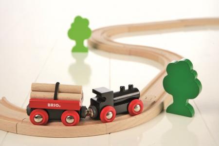 Mini set trenuleț forestier, Brio 330425