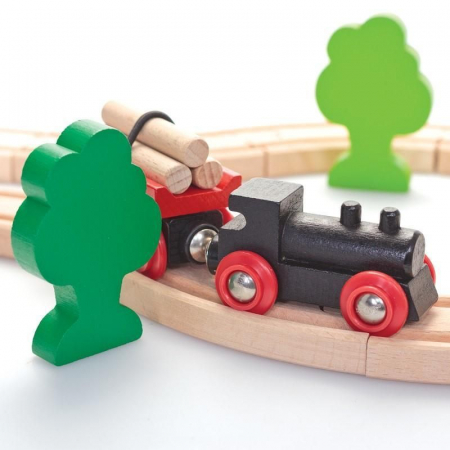 Mini set trenuleț forestier, Brio 330422