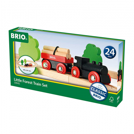 Mini set trenuleț forestier, Brio 330421