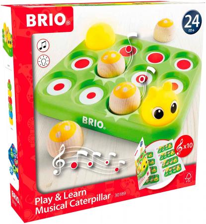 Învață jucând - Omida muzicală, Brio 301892