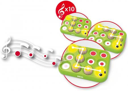 Învață jucând - Omida muzicală, Brio 301894
