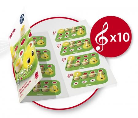 Învață jucând - Omida muzicală, Brio 301897