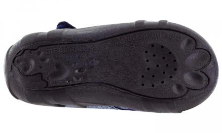 Pantofi baieti cu ancora brodata (cu scai), din material textil6